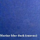 10 y Cotton Canvas Duckcloth Upholstery Fabric Marine Blue