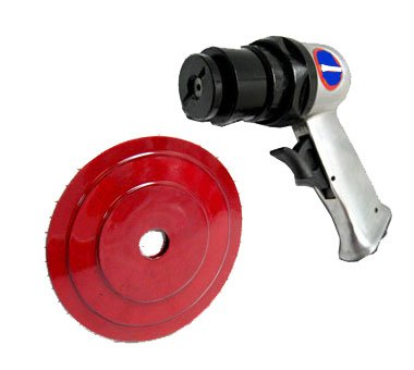"5"" High Speed Air Sander With 3 Pad"