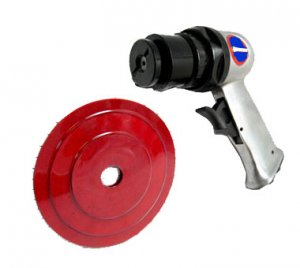 """5"""" High Speed Air Sander With 3 Pad"""
