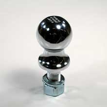 Trailer Hitch Ball 2-5 16in X 1in (5,000 Lb)