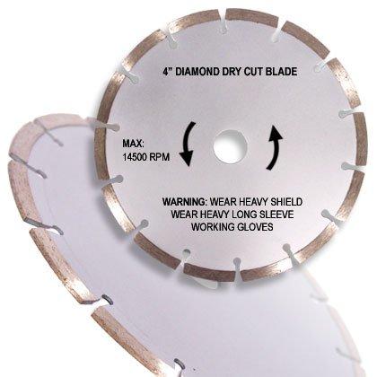 "4"" Diamond Dry Cutting Blade"