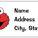 30 Personalized Sesame Street Elmo Return Address Labels