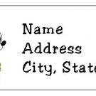 30 Personalized Mickey Mouse Return Address Labels
