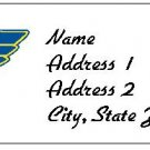 30 Personalized NHL Hockey St. Louis Blues Return Address Labels