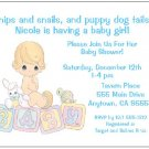 8 Personalized Precious Moments Baby Boy Shower Invitations