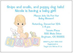 8 personalized precious moments baby boy shower invitations filmwisefo