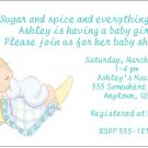 8 Personalized Precious Moments Baby Shower Invitations