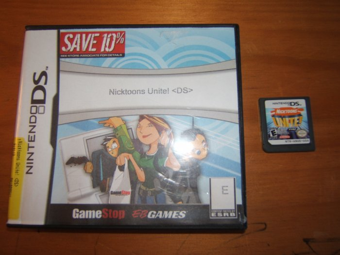 Gently Used Nicktoons Unite game for Nintendo DS