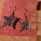 Dangly Butterfly Earrings