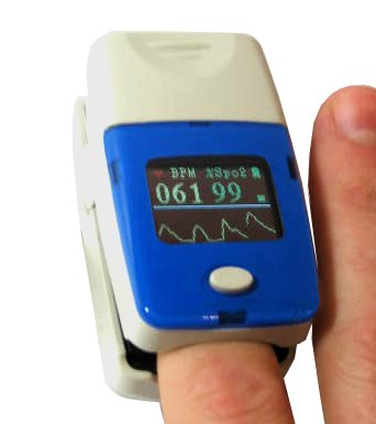 Finger Oximeter -Color LCD Display/ Shipping Included in the price