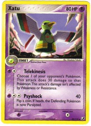 Pokemon Card Unseen Forces Xatu 49/115