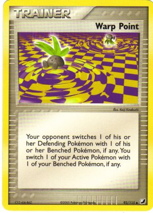 Pokemon Card Unseen Forces Trainer Warp Point