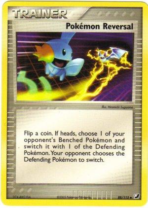 Pokemon Card Unseen Forces Trainer Pokemon Reversal