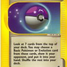 Pokemon Card Expedition Trainer Master Ball