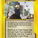 Pokemon Card E Aquapolis Trainer Juggler