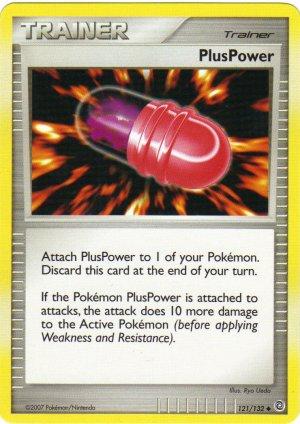 Pokemon Card DP Secret Wonders Trainer Plus Power