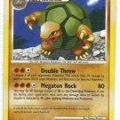 Pokemon Card DP Secret Wonders Golem 29/132