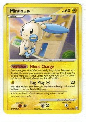 Pokemon Card DP Secret Wonders Minum32/132