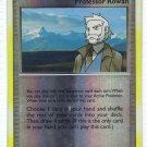 Pokemon Card DP Secret Wonders reverse Holo trainer Rowan