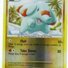 Pokemon Card DP Secret Wonders Reverse Holo Phanpy 98/132