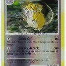 Pokemon Card DP Secret Wonders Reverse Holo Raticate 61/132