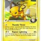 Pokemon Card Platinum Rising Rivals Raichu 31/111