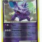 Pokemon Card Platinum Rising Rivals Rev Holo Nidorino 74/111