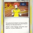Pokemon Card Platinum Rising Rivals Trainer Flint's Willpower