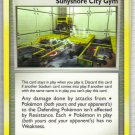 Pokemon Card Platinum Rising Rivals Trainer Sunishore City Gym
