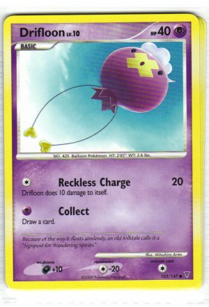 Pokemon Card Platinum Supreme Victors  Drifloon 103/147