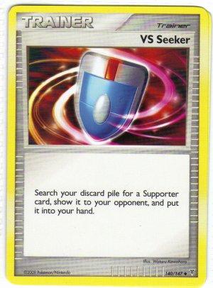 Pokemon Card Platinum Supreme Victors  Trainer VS Seeker