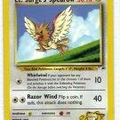 Pokemon Card Gym Heroes Lt. Surge's Spearow' 83/132