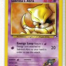 Pokemon Card Gym Heroes Sabrina's Abra 91/132