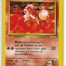 Pokemon Card Gym Heroes Blaine's Growlithe 62/132