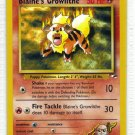 Pokemon Card Gym Heroes Blaine's Growlithe 35/132