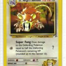 Pokemon Card Gym Heroes Lt. Surge's Raticate 51/132