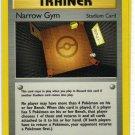 Pokemon Card Gym Heroes Trainer Narrow Gym