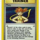 Pokemon Card Gym Heroes Holo TrainerMisty
