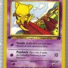 Pokemon Card Team Rocket  Abra 49/82