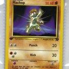 Pokemon Card Team Rocket  Machop 59/82