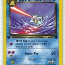 Pokemon Card Team Rocket  Dark Golduck 37/82