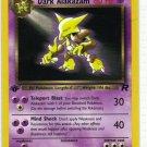 Pokemon Card Team Rocket  Dark Alakazam 18/82