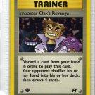 Pokemon Card Team Rocket Trainer Imposter Oak's Revenge