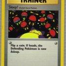 Pokemon Card Team Rocket Trainer Sleep!