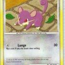 Pokemon Card Platinum Arceus Rattata 73/99
