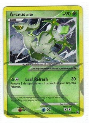 Pokemon Card Platinum Arceus Holo Arceus ar2
