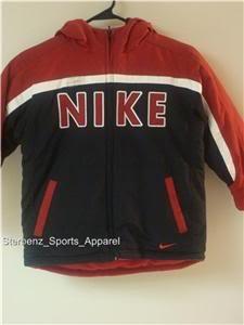 Nwt 4 NIKE Boys Reversible Puffy Coat Jacket New $85