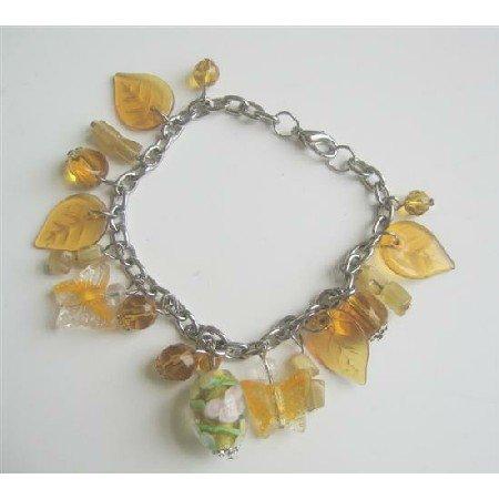 UBR034  Stunning Summerish Dangling Affordable BRacelet Multi Beads Bracelet
