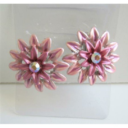 GC100  Beautiful Flower Hair Clip Sophisticate Girls Hair Accessory