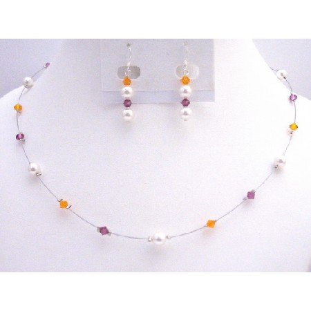 BRD047  Sophisticated Affordable Wedding Jewelry For Your Bridesmaids